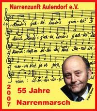 Jahresorden 2007:  55 Jahre Aulendorfer Narrenmarsch