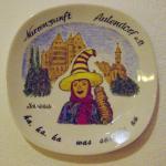 """Wandteller """"Schnörkele"""""""