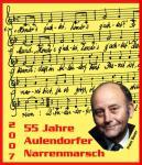 """Pin """"55 Jahre Narrenmarsch"""""""